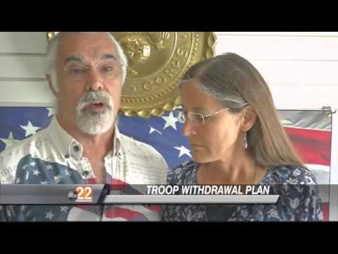 Family of Miamisburg Marine Killed Speaks About Troop Withdrawal