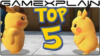 Detective Pikachu - Top 5 Amusing Moments (Cute & Funny Cutscenes)