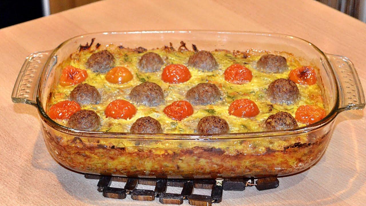 Рецепт запеканки с картофелем и мясом в духовке пошагово