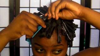 Natural Hair: Roller Set Tutorial :)