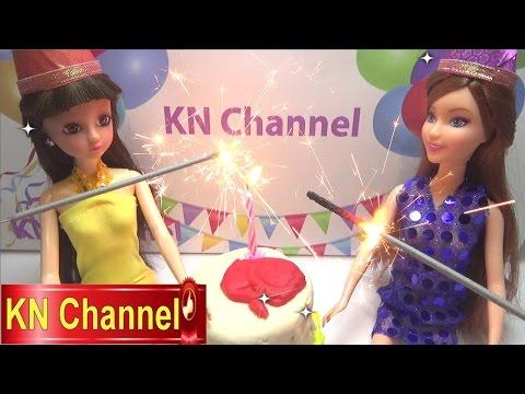 Đồ chơi trẻ em bé Na Búp bê công chúa sinh nhật Princess Clara Doll's Birthday kid toys