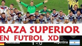 Alemania campeón y Argentinas no daran petes