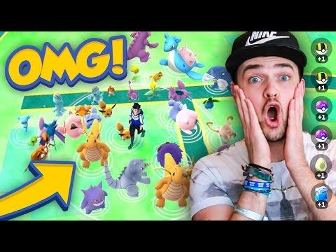 Pokemon GO - LOOK AT THESE INSANE SPAWNS!