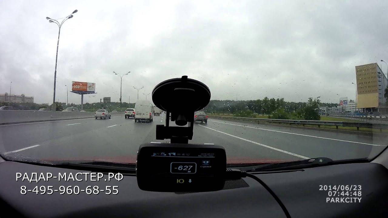 Видеорегистратор который ловит стрелку