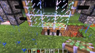 Minecraft: Puerta giratoria
