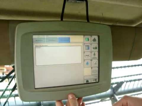 Agricultura de Precisão Colhedora STS John Deere com Sistema AMS (GEMMA)