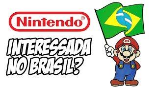 Nintendo interessada no Brasil?