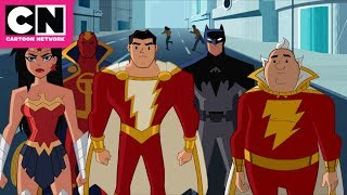 Justice League Action | Uncle Dudley Gets Power of Shazam! | Cartoon Network