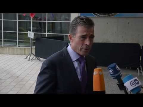 NATO Secretary General Doorstep Statement - European Union Foreign Affairs Council - Luxembourg