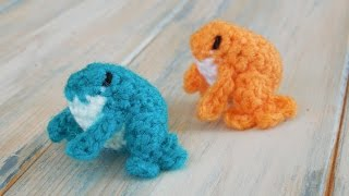 (crochet) How To Crochet A Mini Frog Yarn Scrap Friday