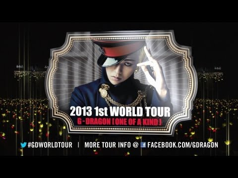 """G-DRAGON 2013 WORLD TOUR [ONE OF A KIND] Official Trailer 15"""""""
