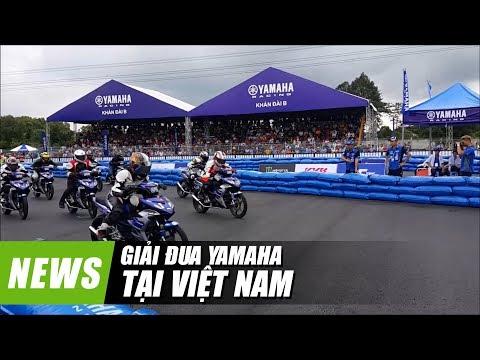 Giải đua Yamaha GP lần đầu tổ chức ở Việt Nam