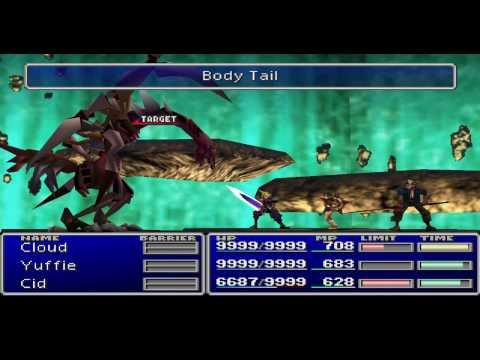 Final Fantasy VII Walkthrough Part 103 Jenova