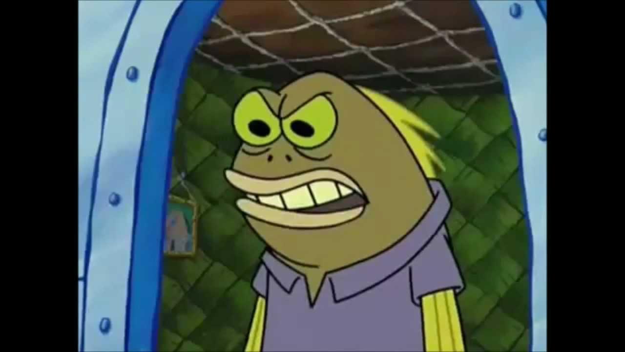 Chocolate Fish Spongebob | Free Here