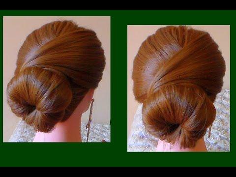 TUTORIAL:Hairstyle long hair/Acconciatura fai da te semplice e veloce capelli lunghi e medi
