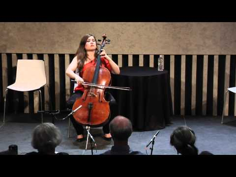 Offstage with Alisa & Josh Weilerstein - Bach's Cello Suite in C Major (part 7 of 8)