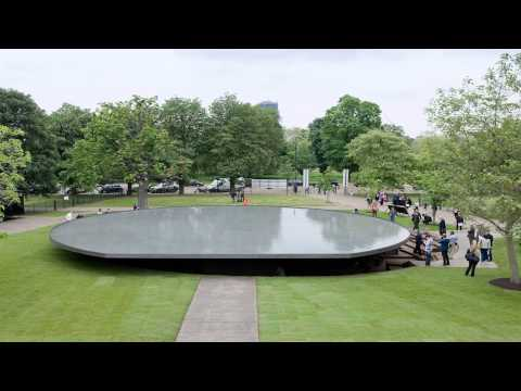 Serpentine gallery Kensington London