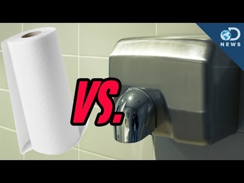 Are Hand Dryers Better Than Paper Towels?