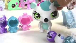 Snow Day Littlest Pet Shop Chilly Weather Fun Playset