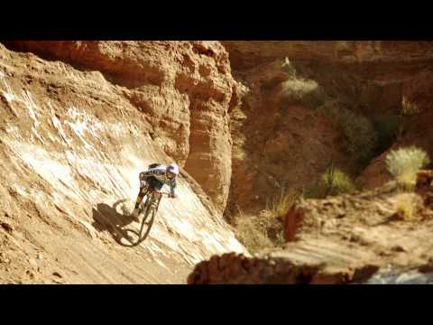 Massive stepdown to wallride slo mo- Red Bull Moments - Gee Atherton