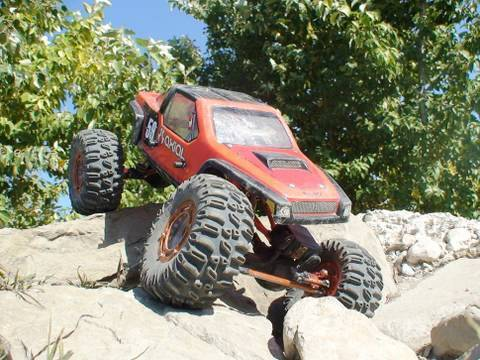 RC ADVENTURES - 2.2 RC ROCK CRAWLERS #1 - W.B's CUSTOM AXIAL - 4X4 RC TRUCKS