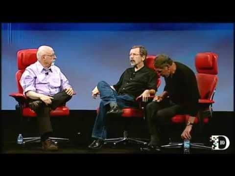 Ed Catmull and Larry Ellison on Steve Jobs at D10 (Full) -U8kH5eZdIqA