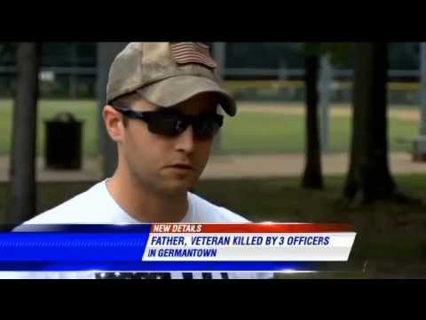 Another war veteran shot, killed by police