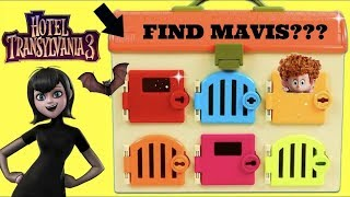 Learning Colors with HOTEL TRANSYLVANIA 3 Mavis Gumballs Candy TOY SCHOOL