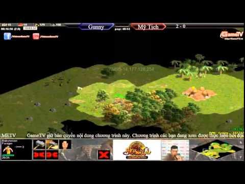 AOE mới nhất Gunny vs Mỹ Tịch T3 ngày 30 6 2015