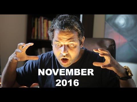 November 2016 monthly Horoscope