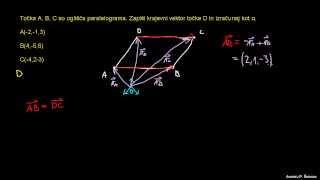 Skalarni produkt in računanje kota 2