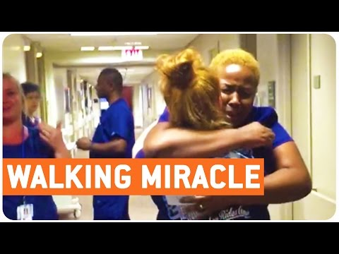 Once Paralyzed Girl Returns to Nurse by Walking for First Time