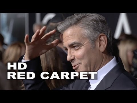 Gravity: George Clooney Movie Premiere Fashion Shots