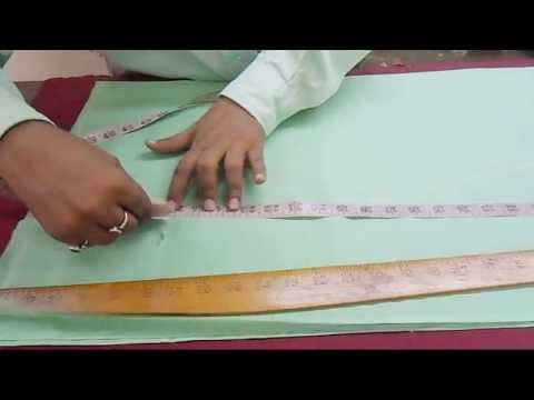 How To Cut Simple Salwar Kameej / Suit-Cutting Methods/Basics Of Kameez Cutting Step