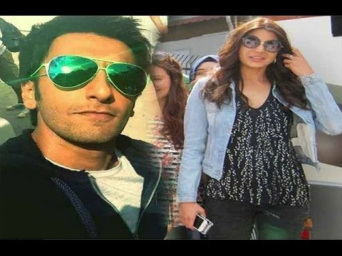 Lovebirds Ranveer Singh and Anushka Sharma in