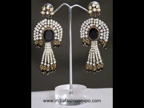 Earrings - Latest Designer Jewellery Earring Collection from www.indiafashionexpo.com, Earrings - Designer Jewellery Earring Latest Indian Collection from www.indiafashionexpo.com including hoop earrings, drop earrings, Indian earrings, earing,...