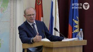 Градоначальник подвел итоги развития округа за прошлый год