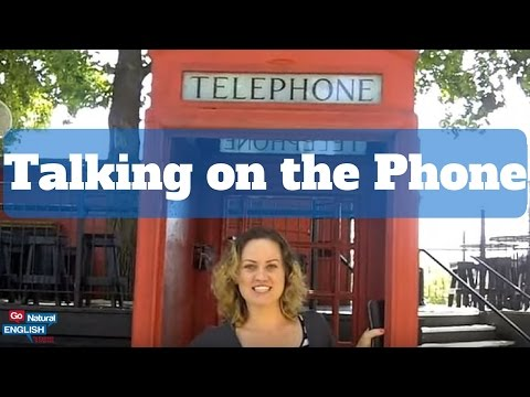 Beginning Telephone Conversation for ESL students