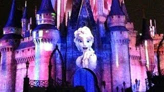 "Frozen Section Of Celebrate The Magic ""Let It Go"" LOVE"