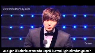 Korea Drama Awards 2011 Lee Min Ho ( Türkçe Altyazılı
