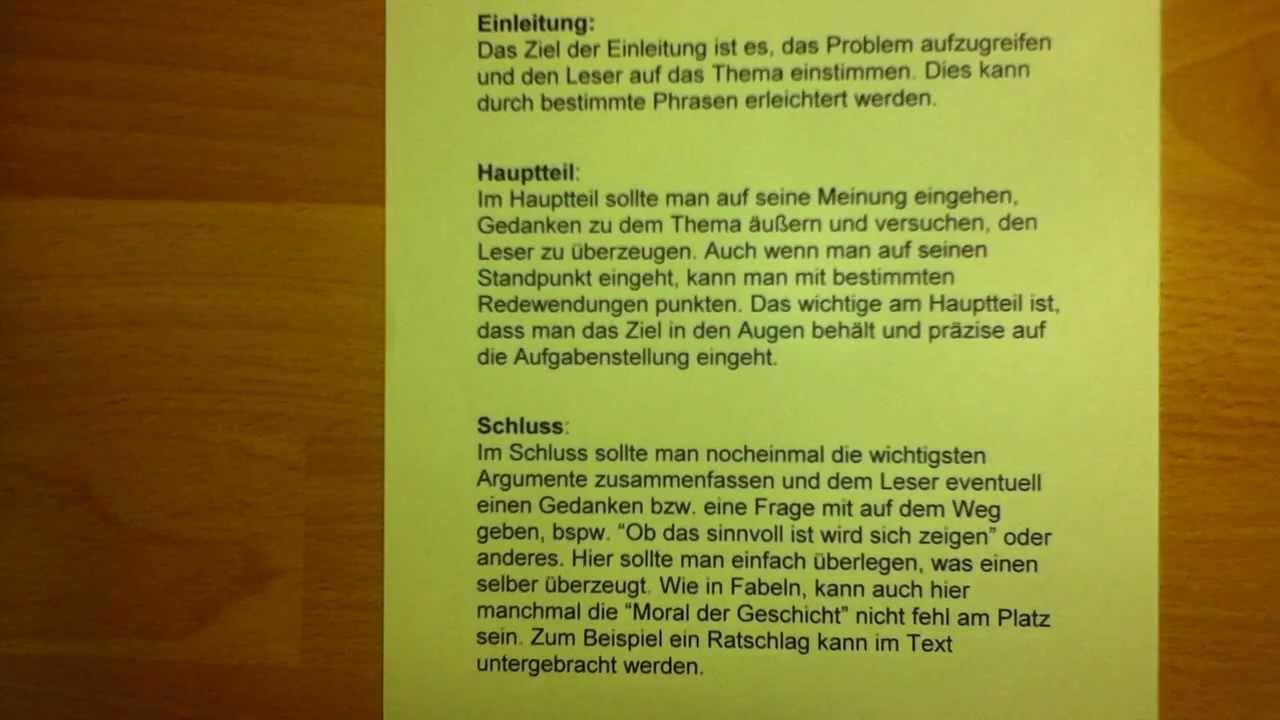 gute essay themen deutsch