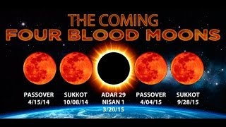 RAPTURE CANCELLED? The Coming Four Blood Moons