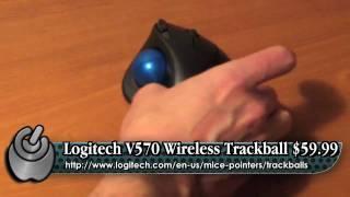 WholeApple Logitech M570 Trackball Review
