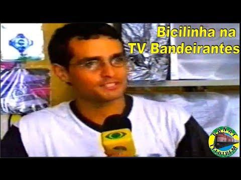 BICILINHA NA TV BANDEIRANTES - MARCELO BRAGUINI FERREIRA - www.lelotrem.com