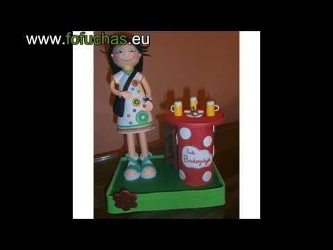 Fofuchas Personalizadas Como hacer muñecas de goma eva