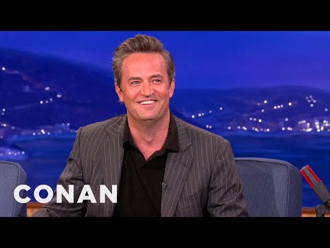 Matthew Perry Threw An Amazing Stanley Cup Party - CONAN on TBS