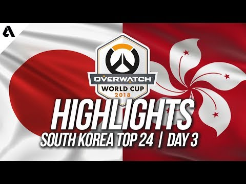 Japan Vs Hong Kong   Overwatch World Cup 2018 Incheon Qualifier Day 3