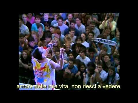 Queen, Love of my life (live at Wembley Stadium, Londra) - con trad. ita