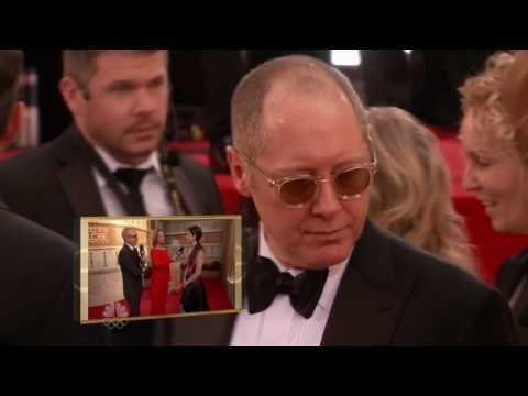 2014 Golden Globes Awards Red Carpet -James Spader
