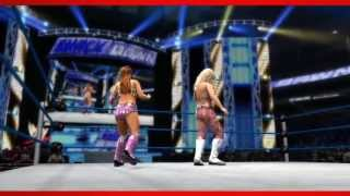 Layla WWE 2K14 Entrance And Finisher (Official)